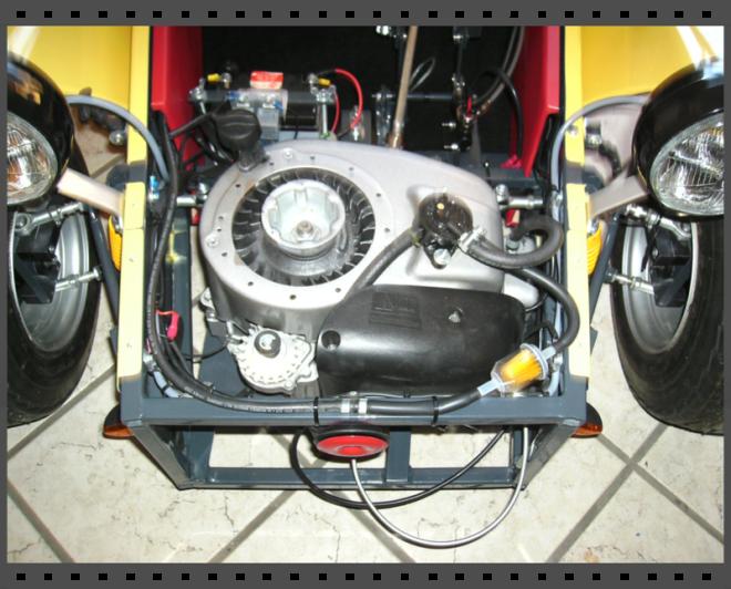 moteur 190 cm3 - 6.5 Cv