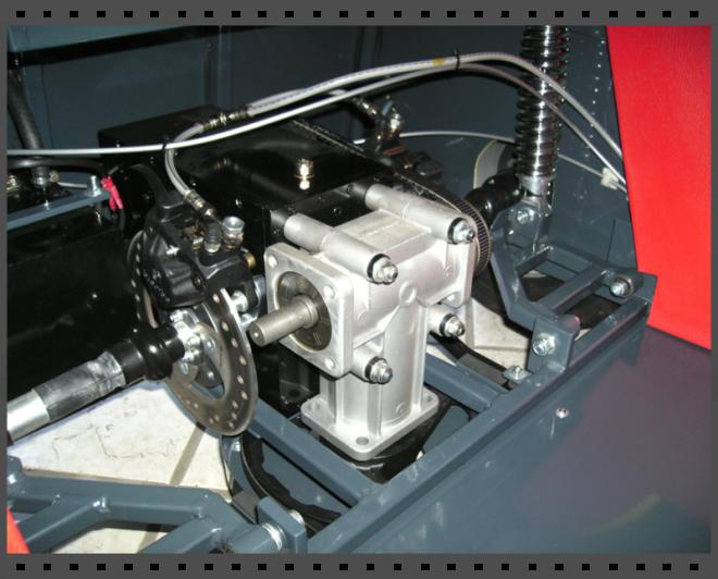 transmission et freinage complet